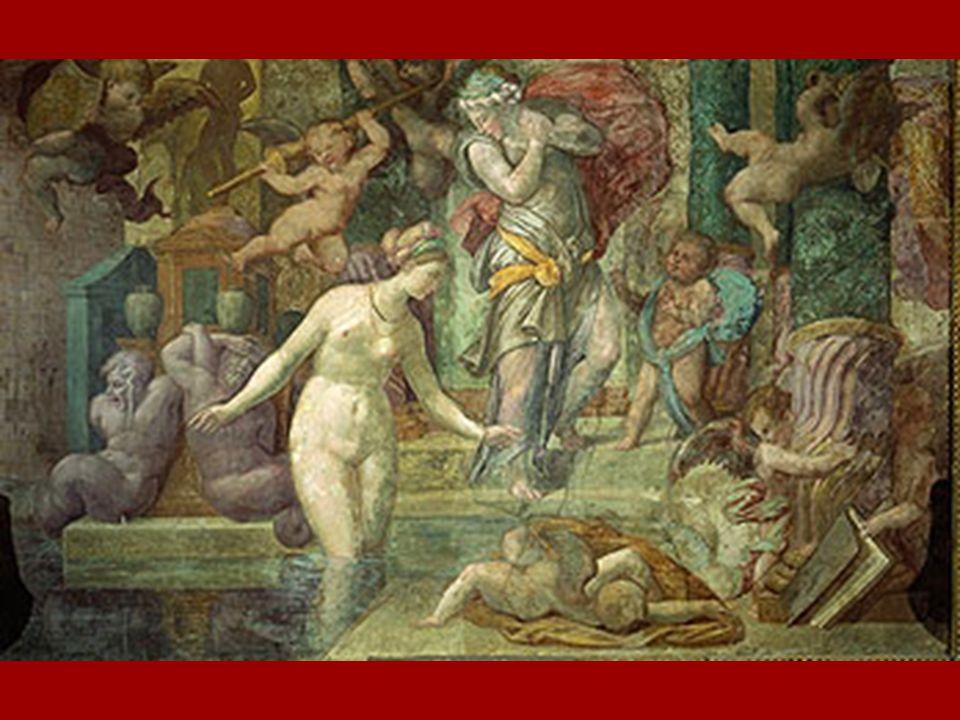 Le Primatice (Bologne, 1504 - Paris, 1570) formé sur le chantier du palais du Té en Italie, rejoint Rosso en France en 1532.