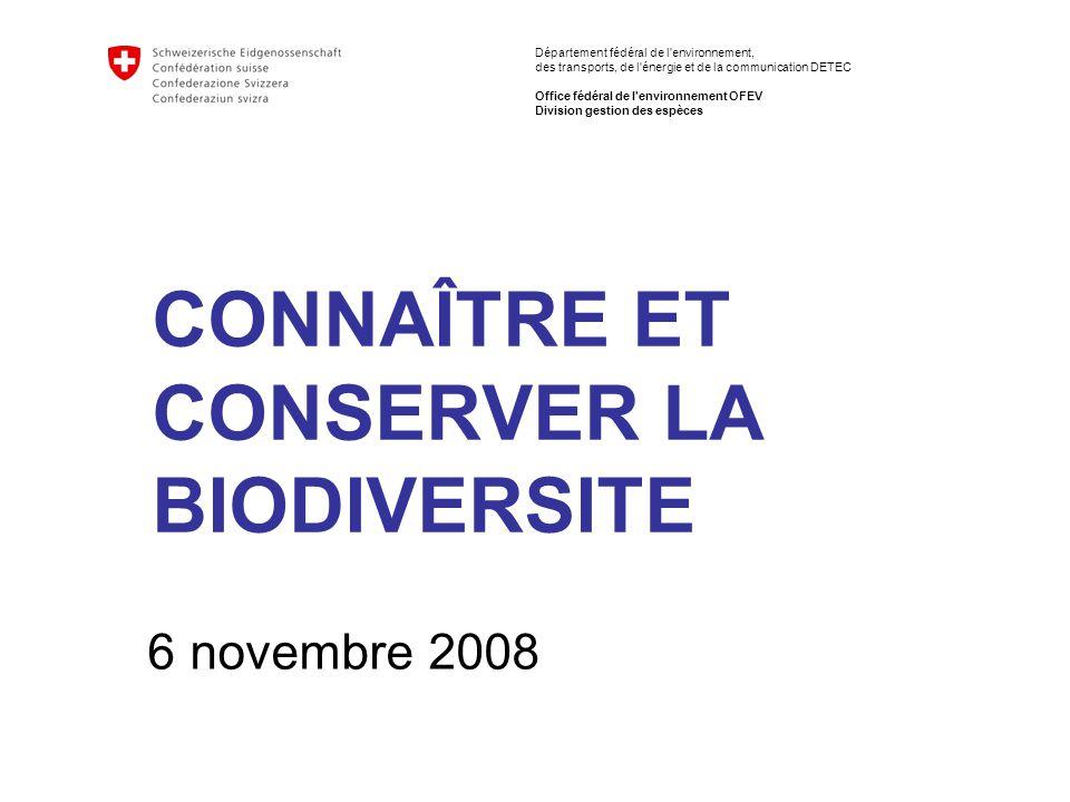 12 Connaître et conserver la biodiversité Evelyne Marendaz Etat des marais ….