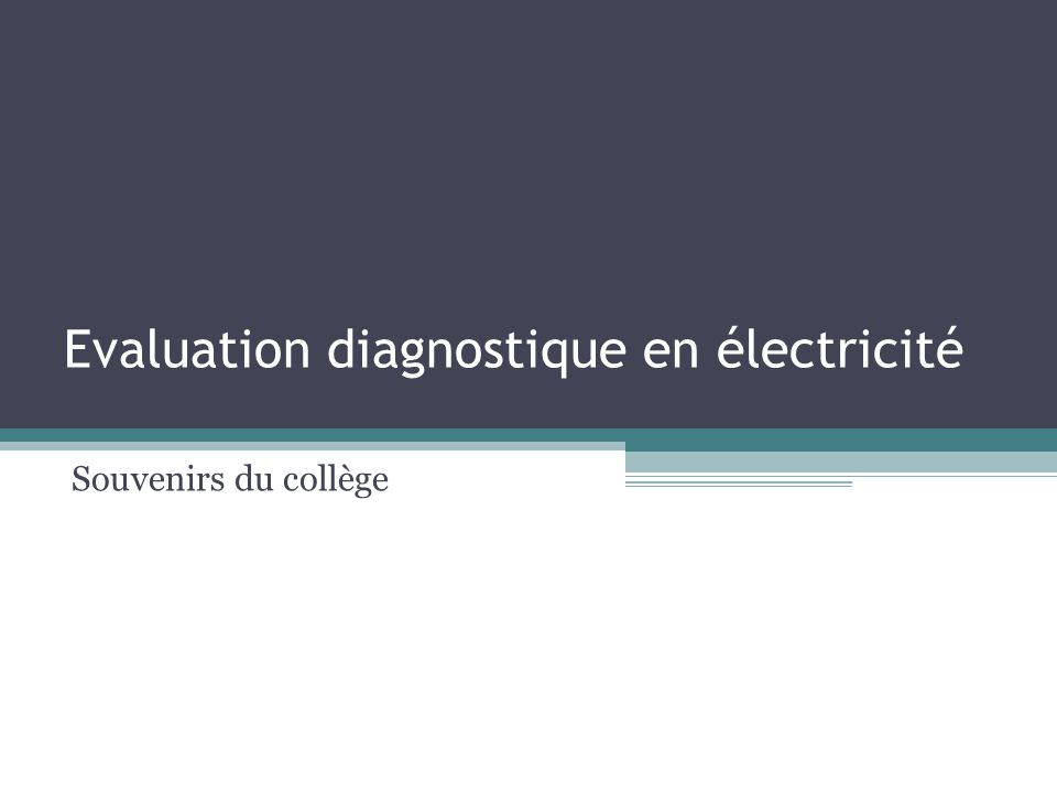 Question 11 : conducteur ou isolant .