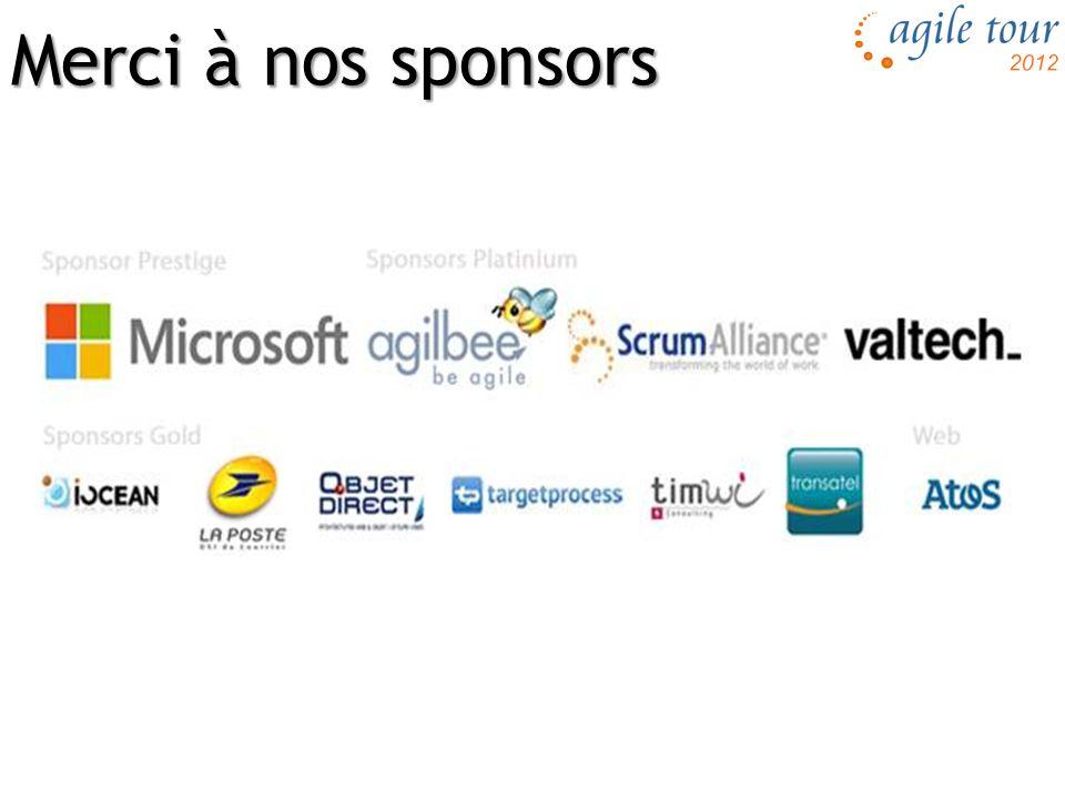 Merci à nos sponsors