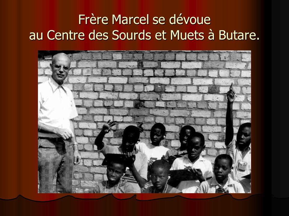 En 1975, Frère Marcel et Frère David missionnaires à Butare au Rwanda