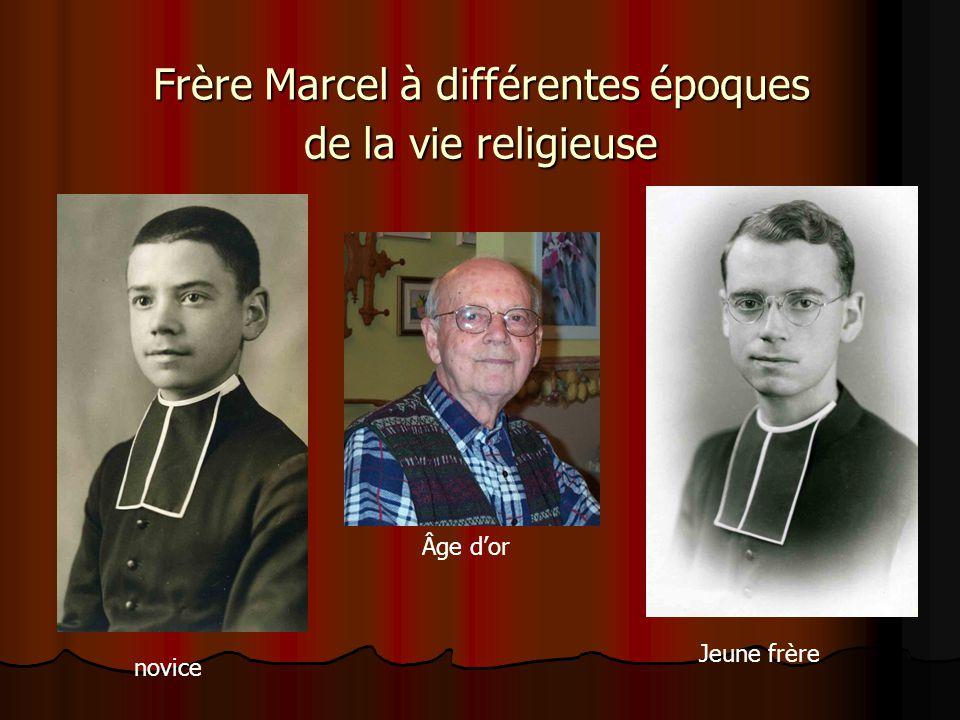 Frère Marcel Bergeron (Frère Étienne-Auguste) des Frères de Saint-Gabriel fils de Arthur Bergeron et de Marie-Anne Gauthier né le 20 avril 1921 à St-T