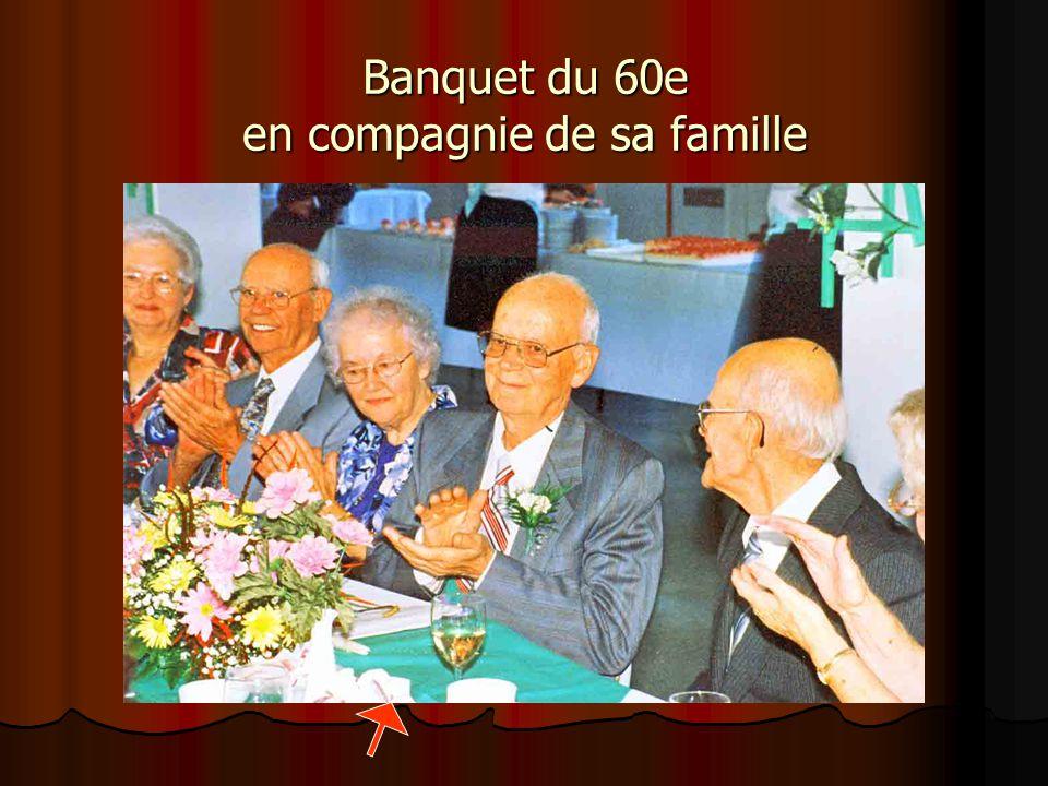 En 1998, Frère Marcel célèbre son 60e de vie religieuse au juvénat de N-D. du Rosaire.