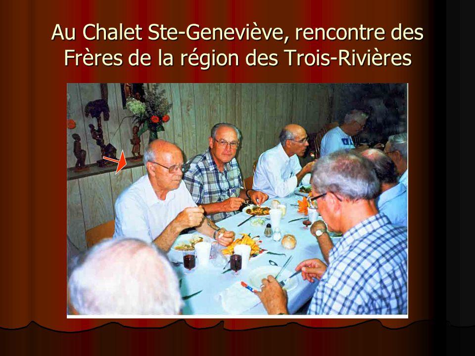 Banquet du 60e en compagnie de sa famille