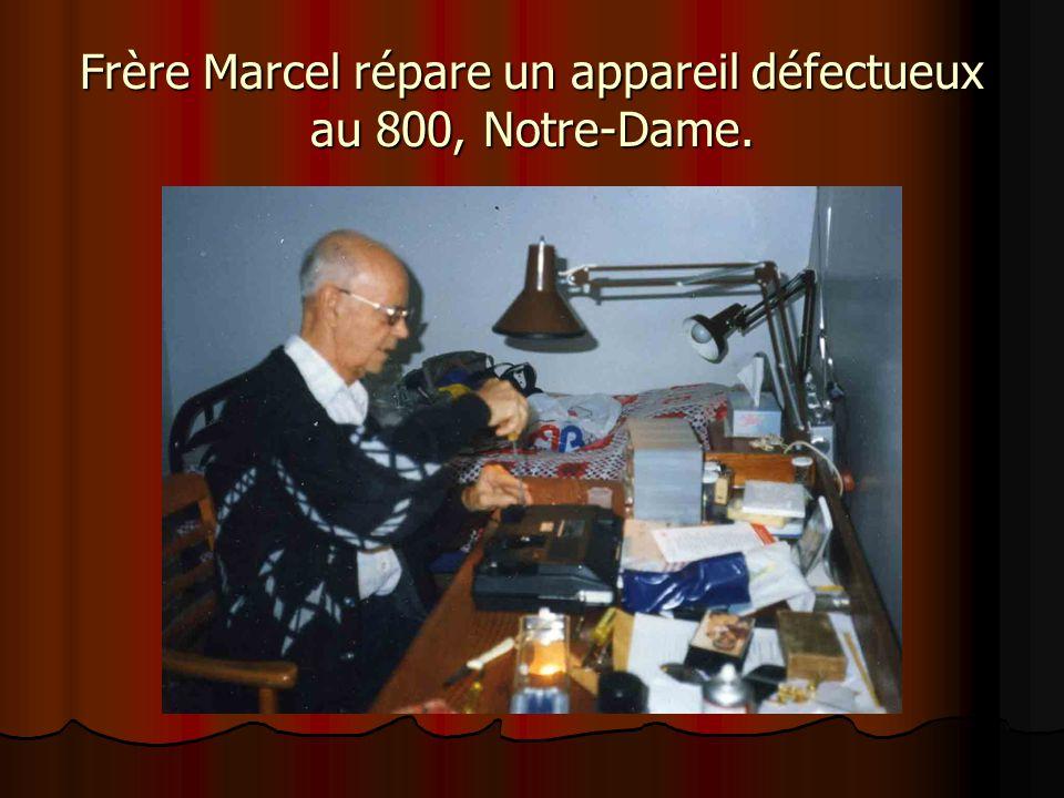 Frère Marcel très apprécié au foyer de l'Arche de la Vigne