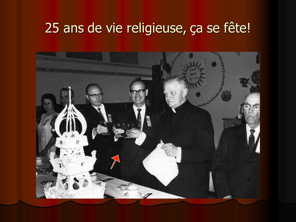 25 ans de vie religieuse, ça se fête!