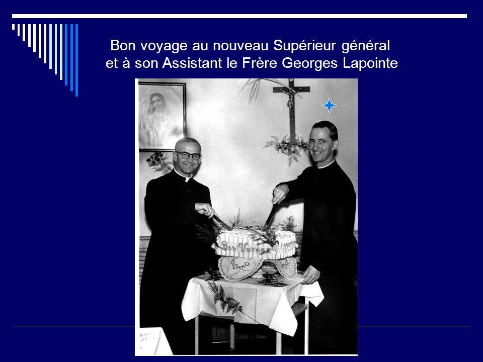 Hommage des Frères de Montréal, au Frère Romain Landry, Supérieur général Maison St-Louis