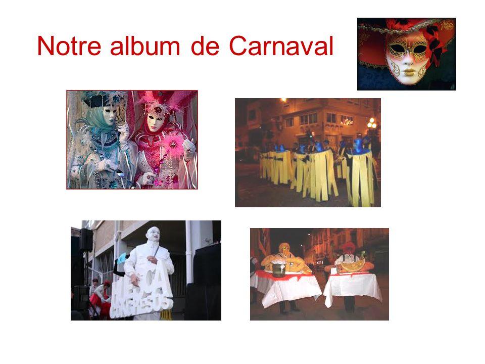 Notre album de Carnaval