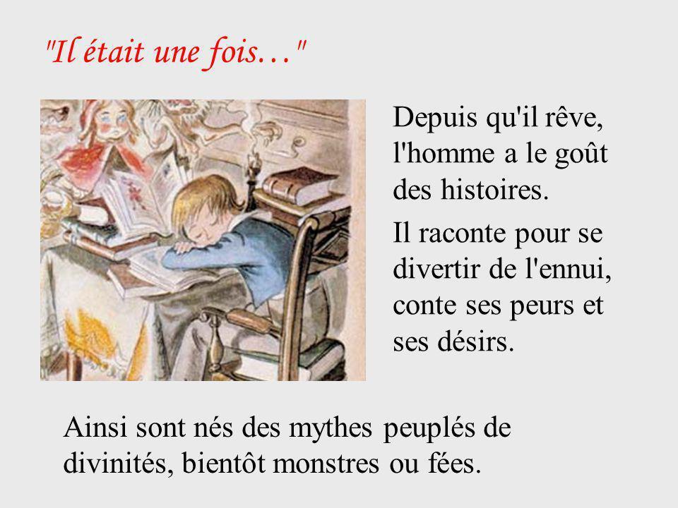 La parole… Les contes sont nés d une parole, transmis de bouche à oreille.