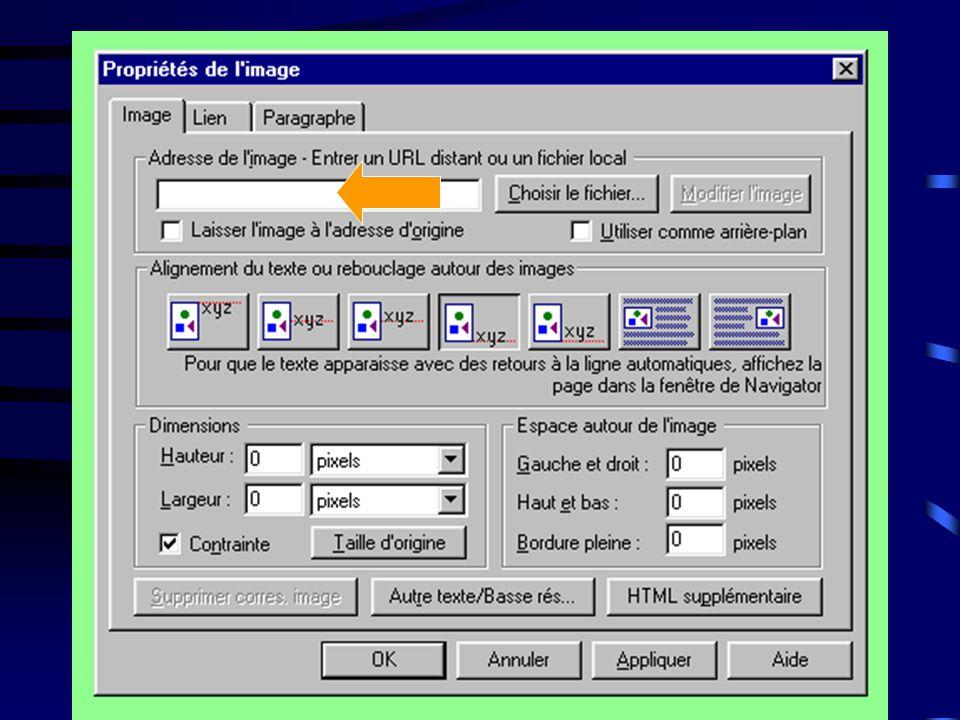 ~ Cliquer sur Insérer, ~ Ensuite sur Image… ~ Ensuite sur Choisir le fichier, ~ Choisissez l'image que vous voulez insérer et ensuite cliquer sur OK.