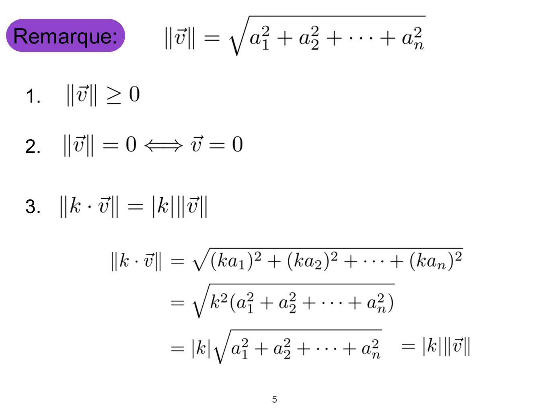 16 Exemple: Est unitaire Donc, Pour trouver l'angle qu'un vecteur fait avec l'axe des x dans.