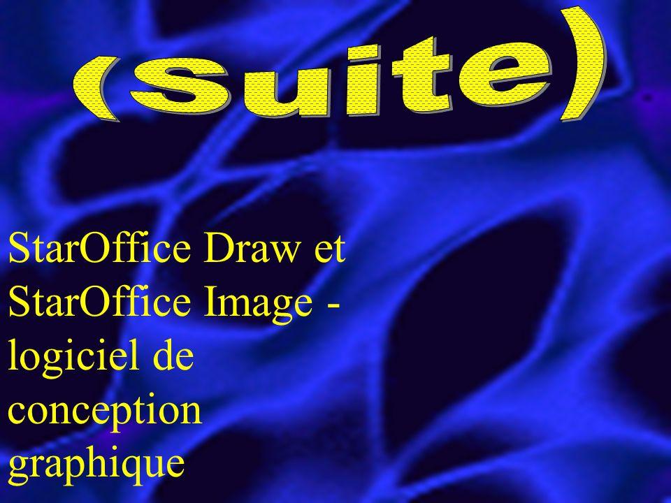 StarOffice Draw et StarOffice Image - logiciel de conception graphique