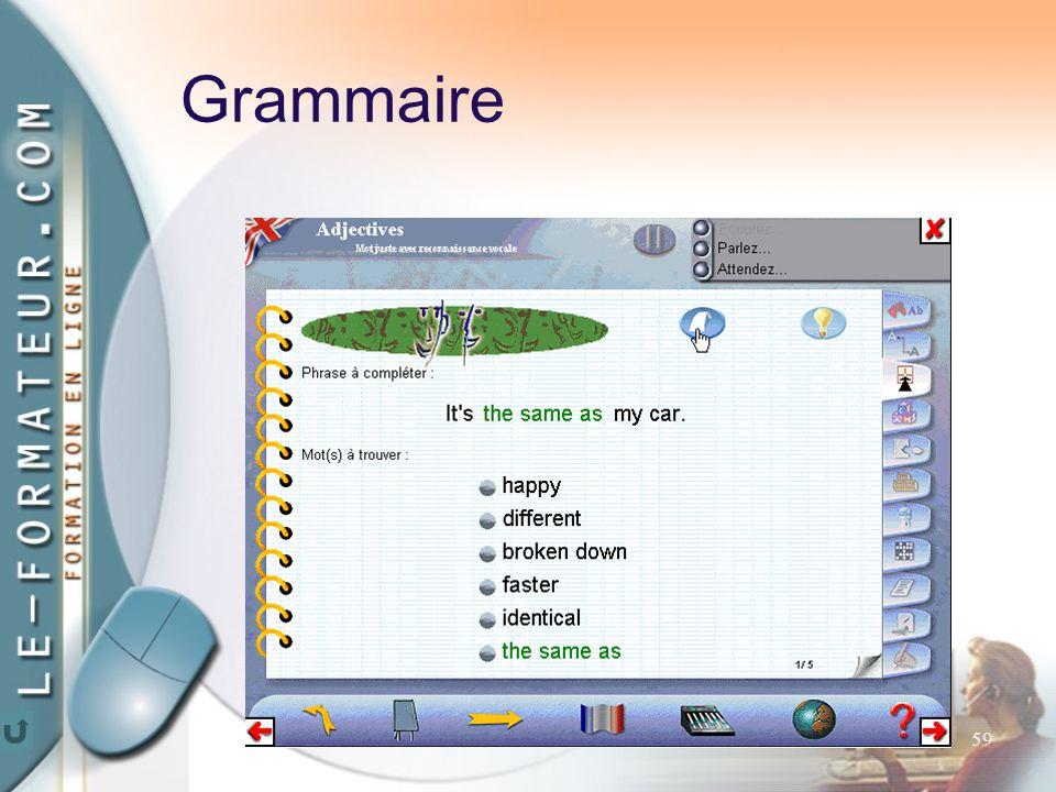 59 Grammaire