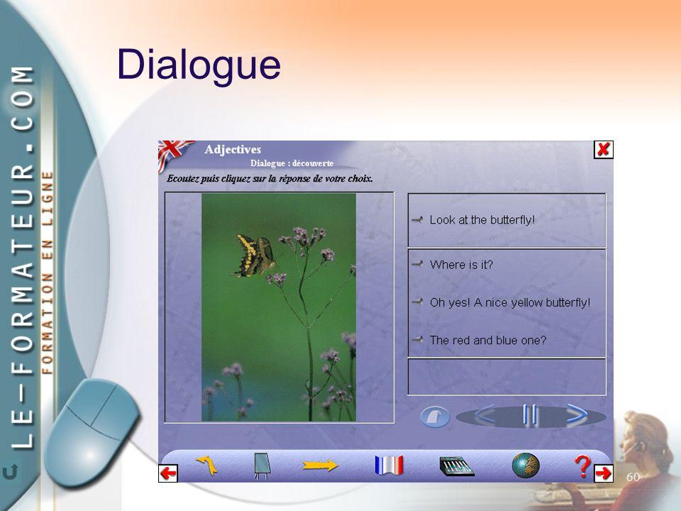60 Dialogue
