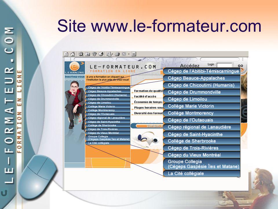 9 Site www.le-formateur.com