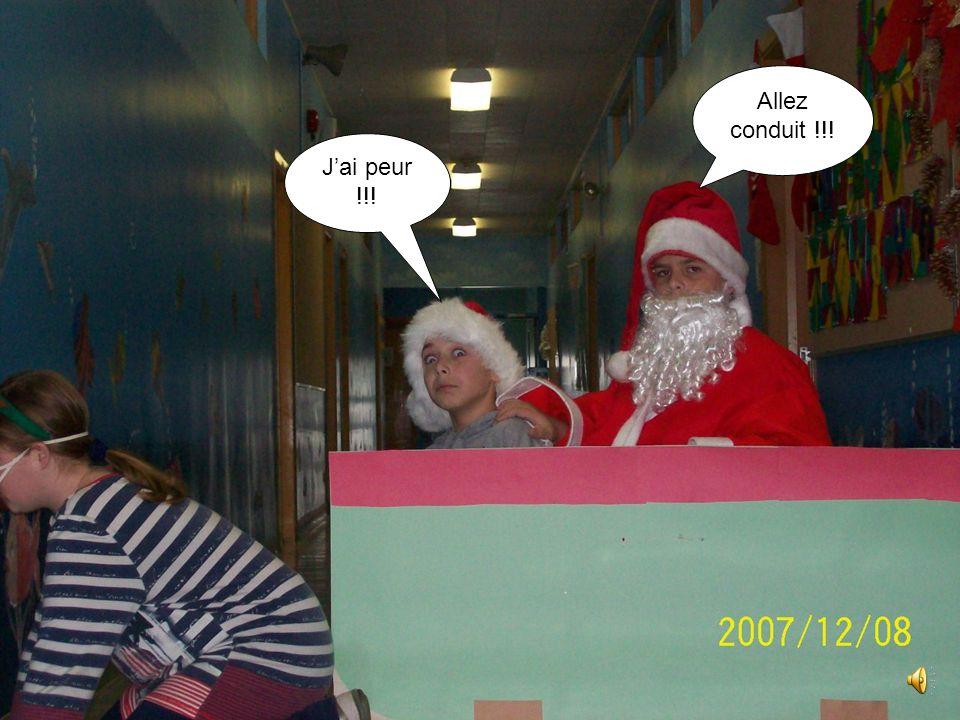 Bon ! Puisque je suis malade tu vas faire la tournée de Noël !!! Ok!! J'ai hâte !!!