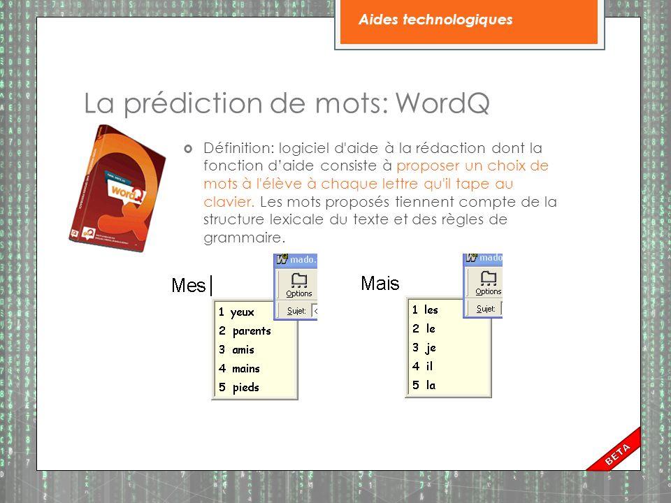 Types de correcteurs:  Orthographique (Ex.: Word)  Grammaticaux (Ex.: Word, Antidote)  Dysorthographique (Ex.: Medialexie)  Phonologique b(Ex.: Medialexie)