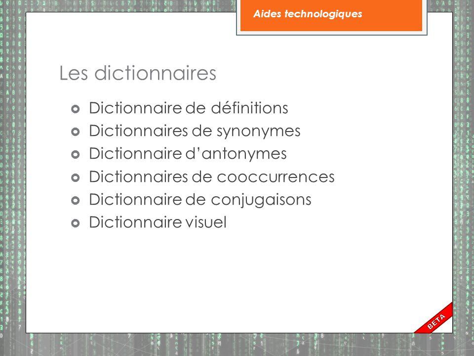 Les dictionnaires électroniques de poche  Lexibook : dictionnaire français Robert avec définitions, synonymes, conjugueurs, etc.