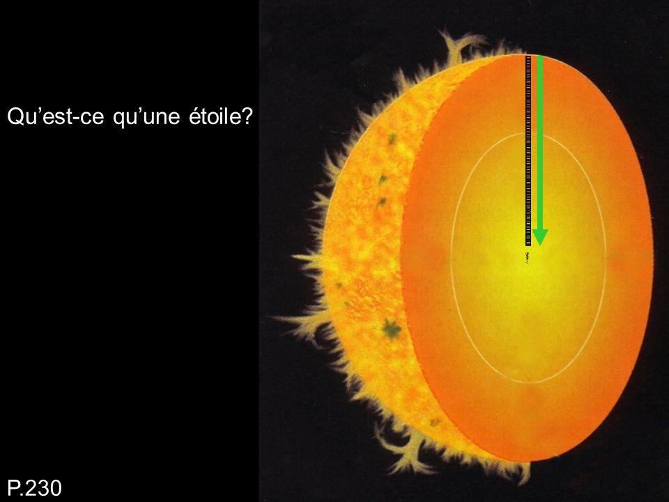 Qu'est-ce qu'une étoile? P.230