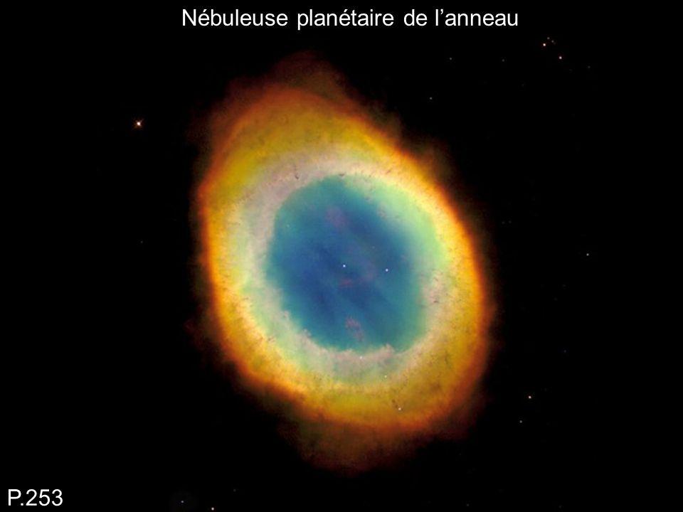 Nébuleuse planétaire de l'anneau P.253