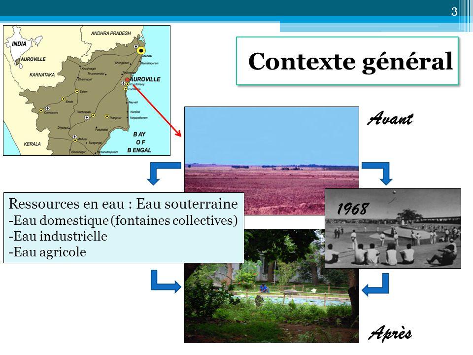 Procédés de traitement Normes Efficacité L'eau pluviale est-elle une source pérenne d'approvisionnement en eau potable pour Auroville .
