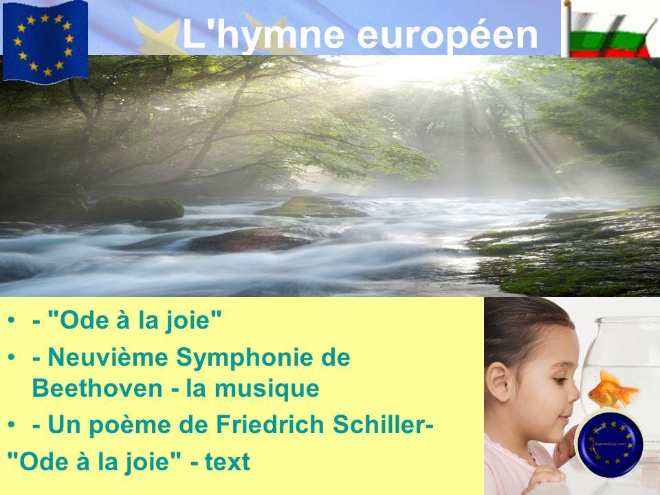 L'hymne européen -