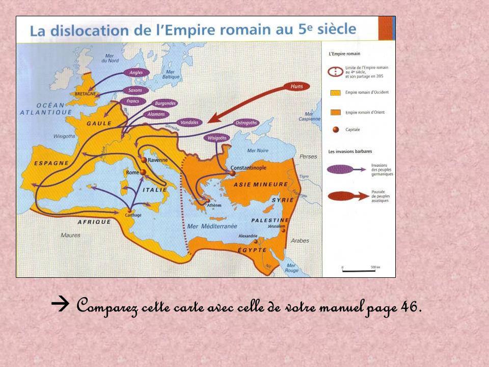 Introduction Entre le V ° siècle et le VII °s il y a des invasions barbares en Europe.