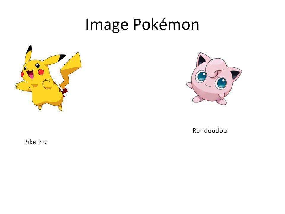 Image Pokémon Pikachu Rondoudou