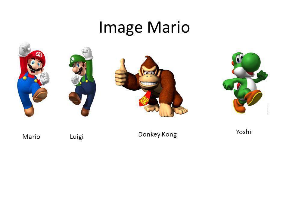 Image Mario MarioLuigi Donkey Kong Yoshi