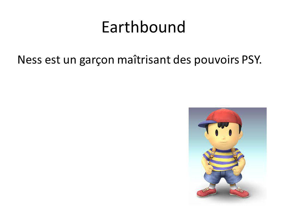 Earthbound Ness est un garçon maîtrisant des pouvoirs PSY.