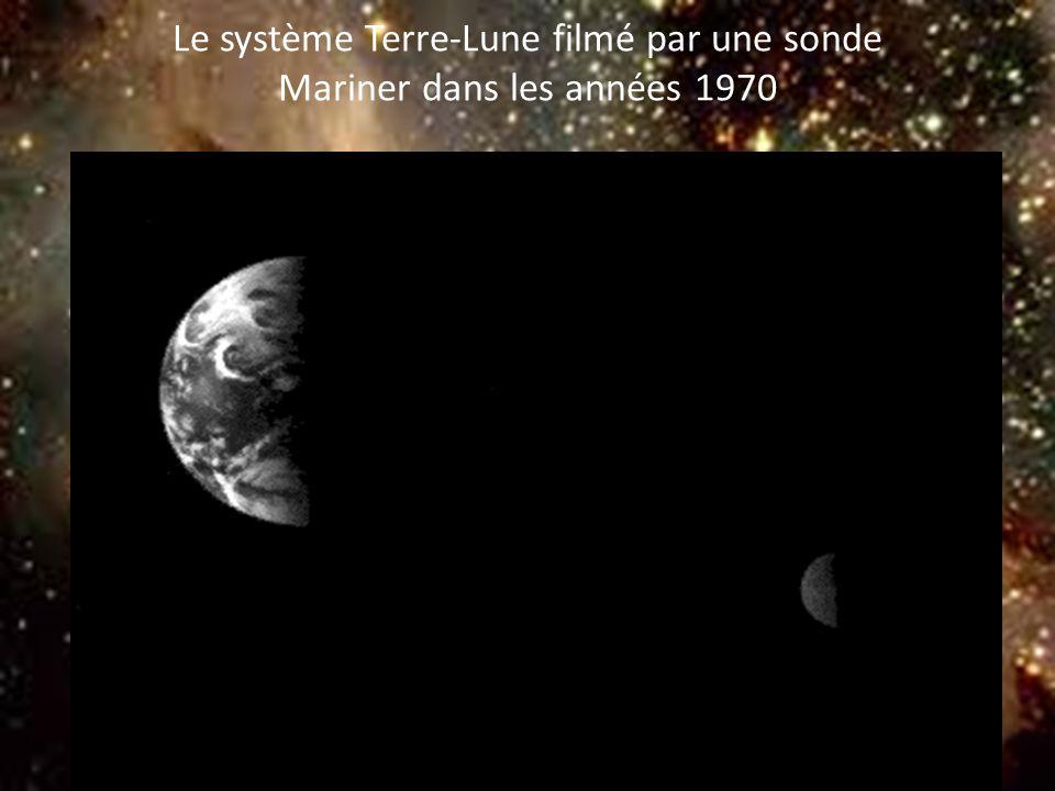 8 Le système Terre-Lune filmé par une sonde Mariner dans les années 1970