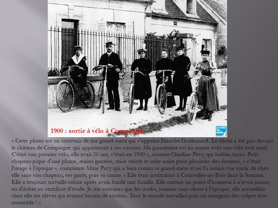 Les « coqueleux » « Cette photo date des années 1930 », écrit Pierre Brochart, qui nous a envoyé le cliché.