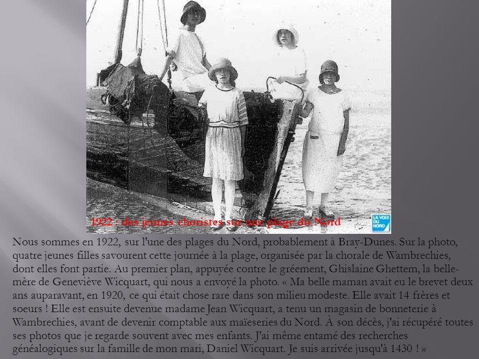 En famille sur une Deudion Bouton en 1909 Cette photo a été prise à Blendecques, dans le Pas-de-Calais, en 1902.