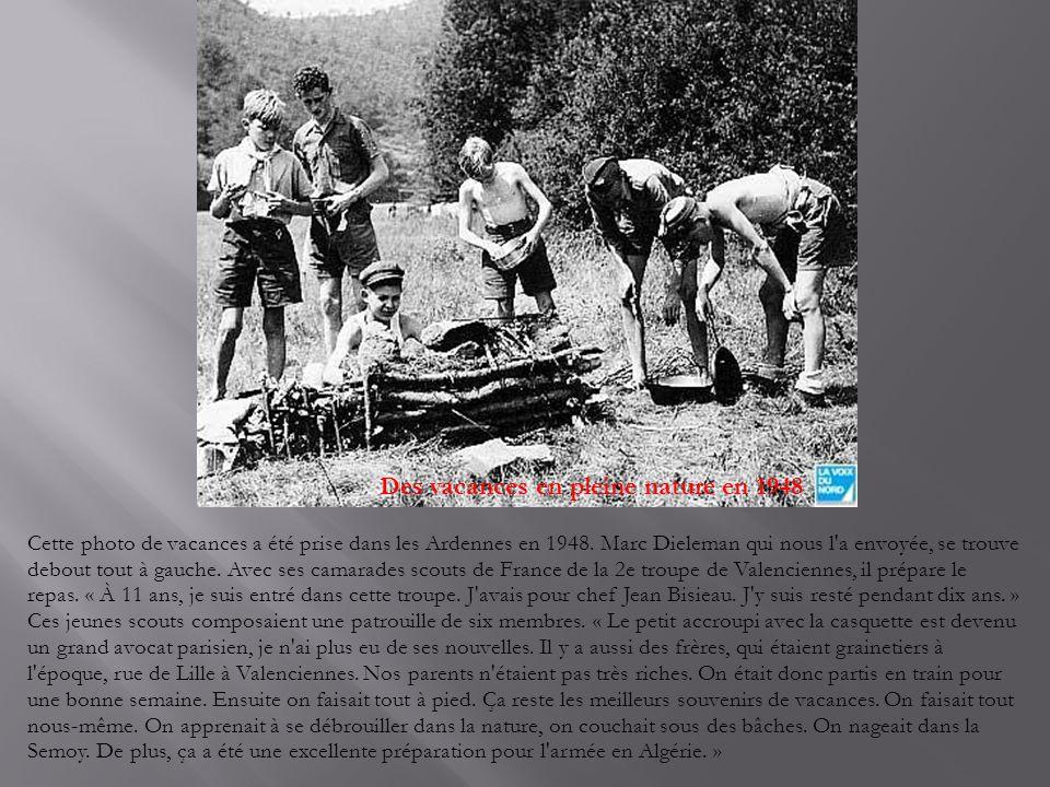 Une équipée sauvage à Worhmout « C est à l occasion de la ducasse de Wormhout, en juillet 1948 je crois, que le clan des motos fit sa première apparition », nous raconte Pierre Moré.