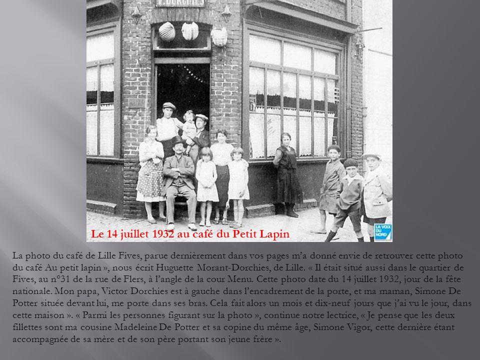 Les mariées étaient en noir Nous sommes en février 1923, à Noordpeene.
