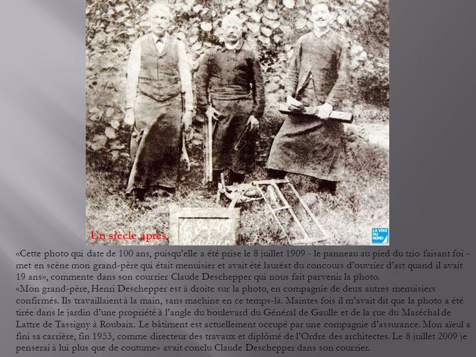 Le 14 juillet 1932 au café du Petit Lapin La photo du café de Lille Fives, parue dernièrement dans vos pages m'a donné envie de retrouver cette photo du café Au petit lapin », nous écrit Huguette Morant-Dorchies, de Lille.