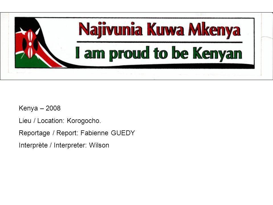 Kenya – 2008 Lieu / Location: Korogocho.