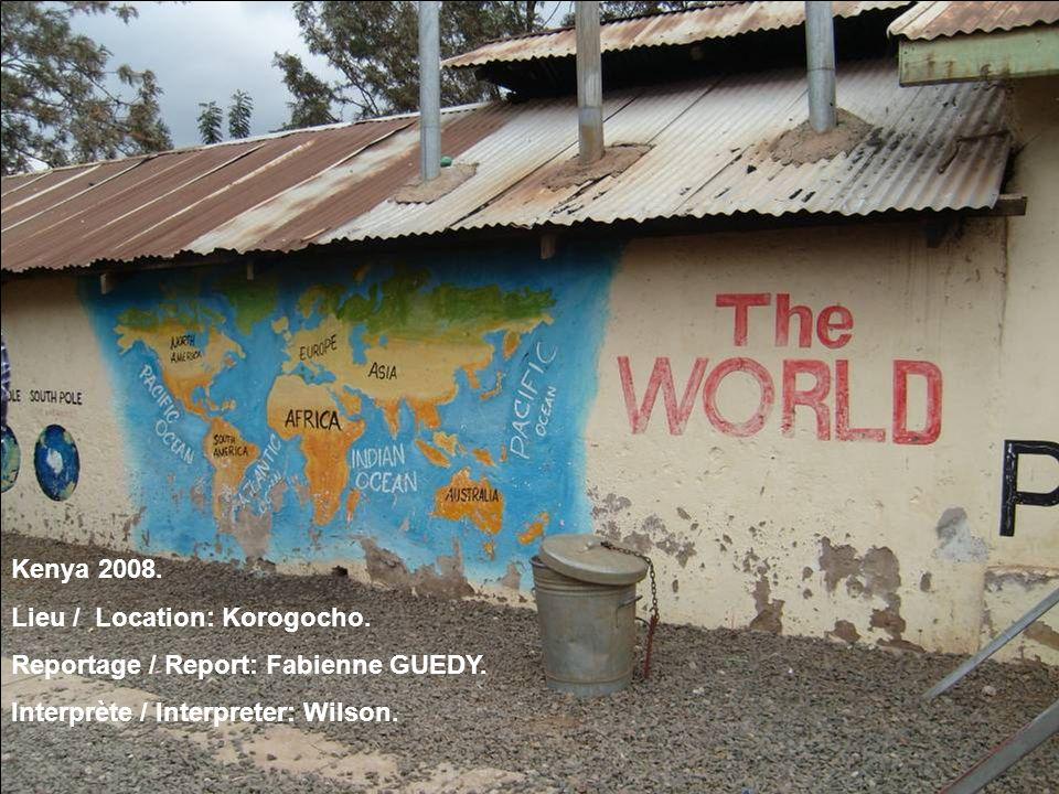 Kenya 2008. Lieu / Location: Korogocho. Reportage / Report: Fabienne GUEDY.