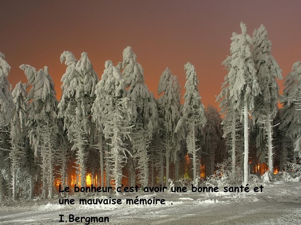 Les année nous viennent sans bruit, la joie prolonge la vie B.Sira