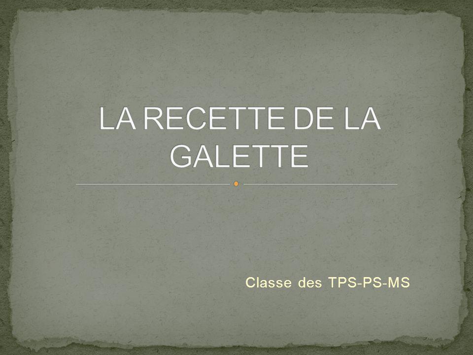 Classe des TPS-PS-MS
