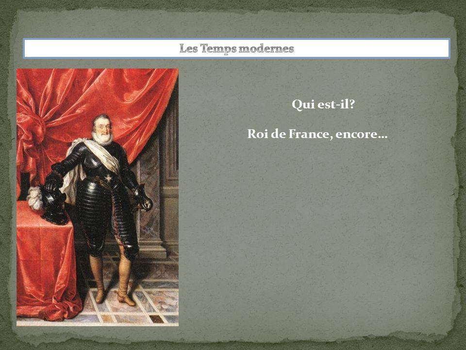 Roi de France, encore…