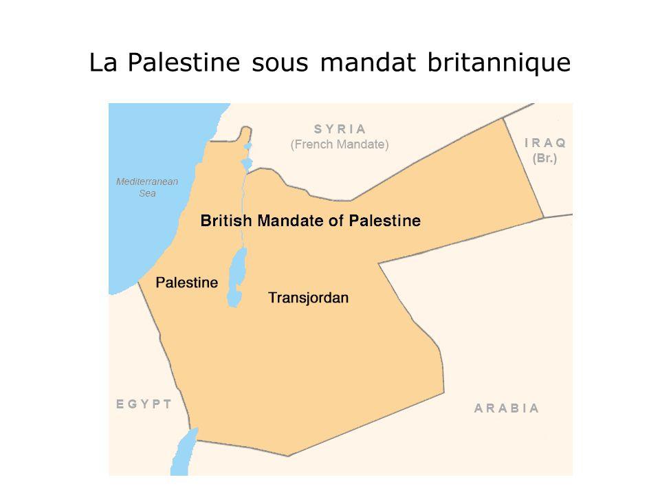 La Shoah provoque un choc à la Libération et un immense courant de sympathie envers les juifs survivants En 1947, l'ONU vote un plan de partage de la Palestine créant deux états indépendants, un juif et un arabe.