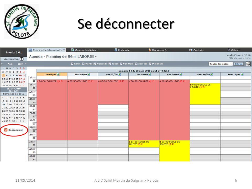 Se déconnecter 11/09/2014A.S.C Saint Martin de Seignanx Pelote6