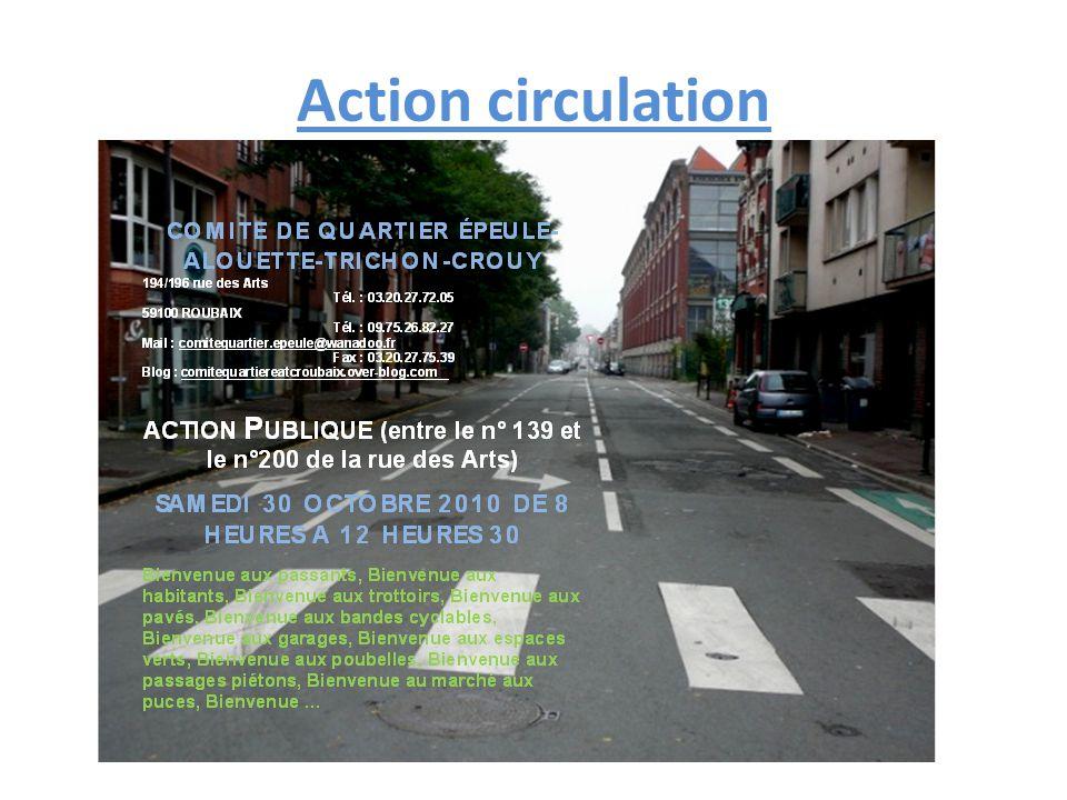 Action circulation