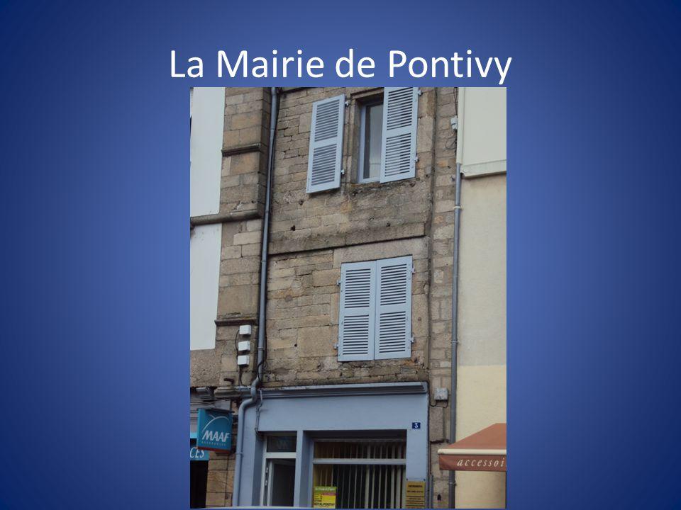 La Mairie de Pontivy