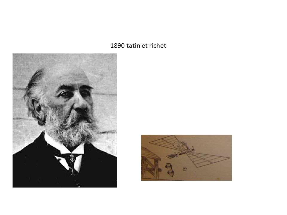1890 tatin et richet