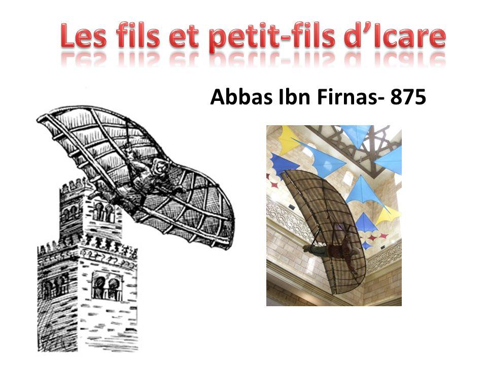 Abbas Ibn Firnas- 875