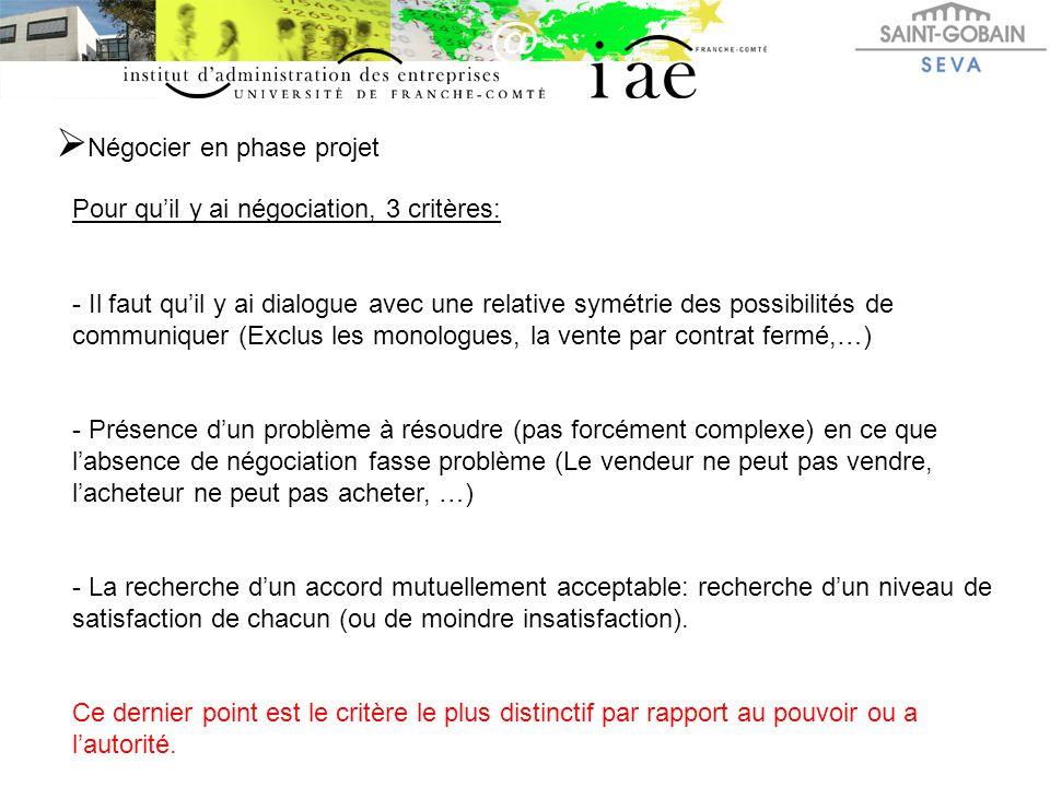  Présentation de la négociation raisonnée 2 Outils essentiels et complémentaires: La MESORE / La MENACE: - Avant la négociation: BIEN PREPARER SA (SES) MESORE(S) !!!!!!!!.