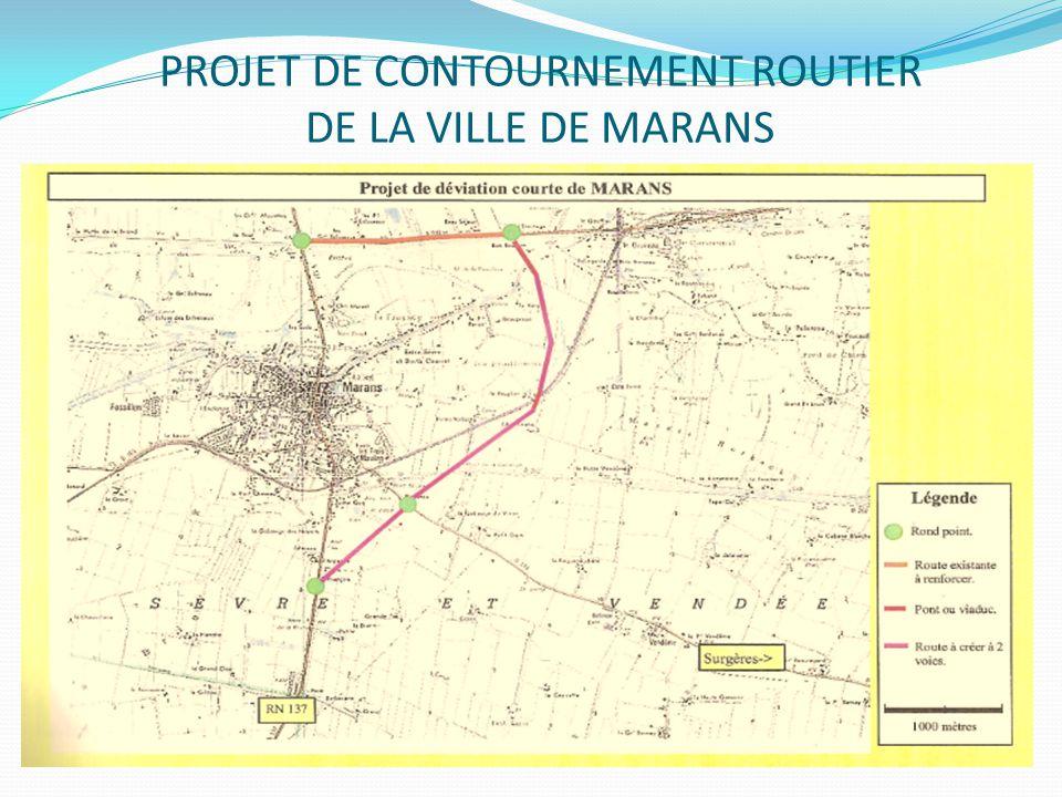 PROJET DE CONTOURNEMENT ROUTIER DE LA VILLE DE MARANS