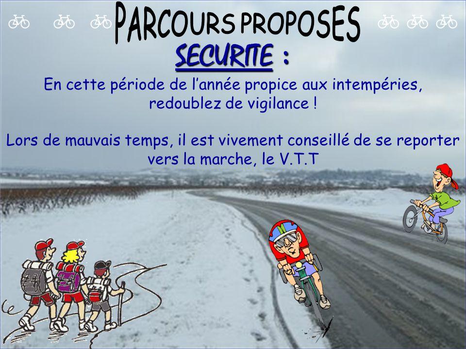 Dimanche 6 février Départ 9H : 65 Km ALENCON-Lonrai-D1-Colombiers-D1-Radon- couper N138-D307-D31-Larré-Ménil Erreux- D506-D172-Chassé-D172-D236-Le Buisson-RF- St Rigomer-Champfleur-Bérus-D30-ALENCON Départ 9H : 50 Km ALENCON-Lonrai-D1-Colombiers-D1-Radon-couper N138-D307-La Pouprière-GR22-D172-Montigny-Lignières-Les Brosses-Champfleur- Bérus-D30-ALENCON